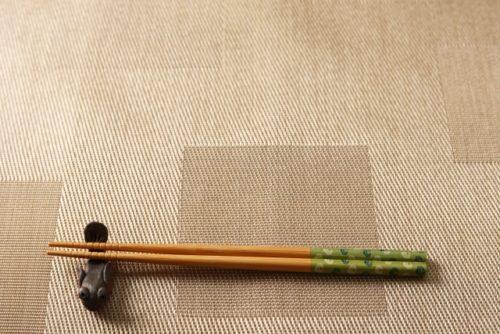 箸と箸置き