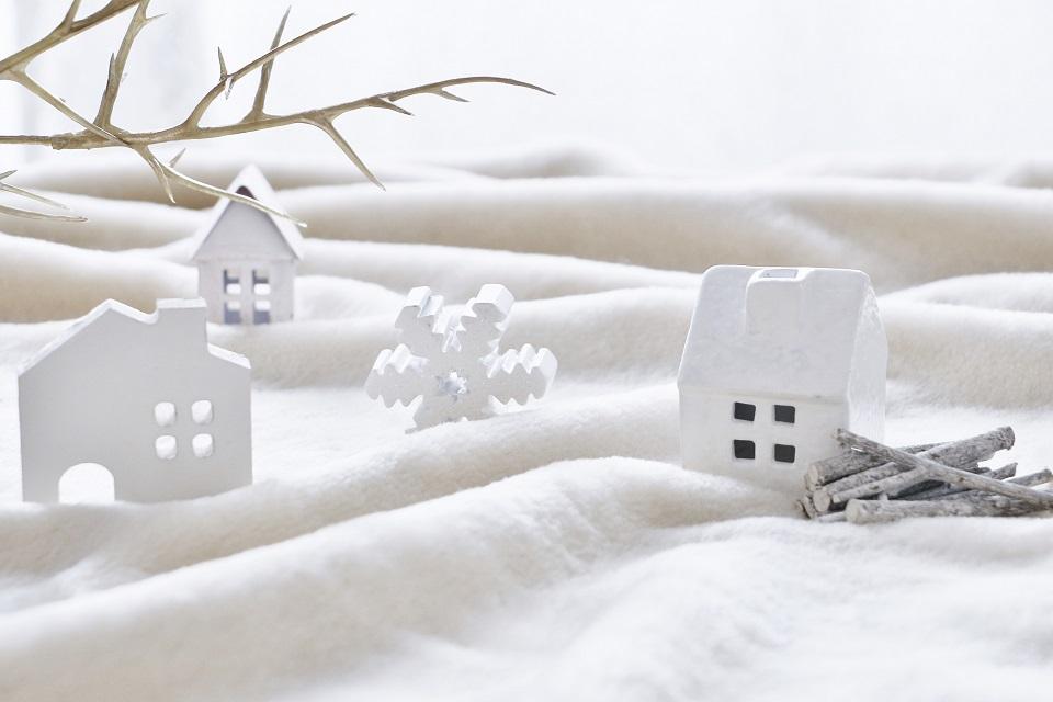 雪の屋外イメージ