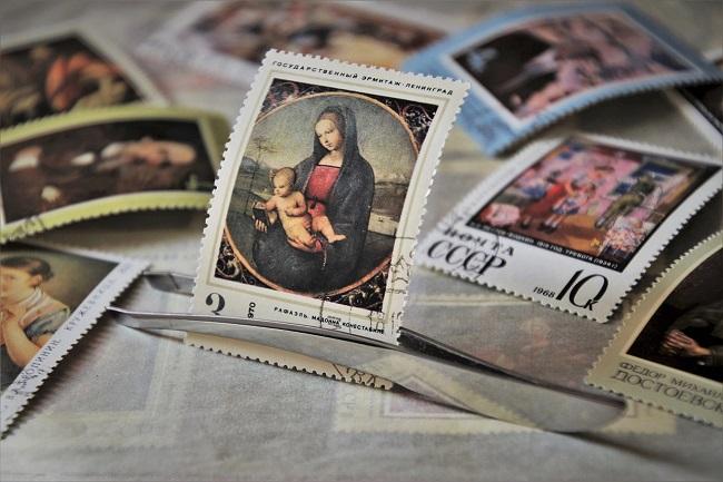 マリアの切手