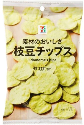 セブンプレミアム枝豆チップス