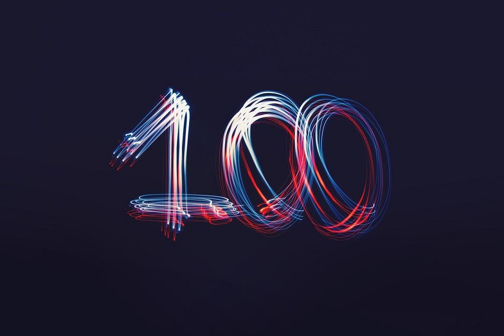 ブログ投稿100記事目