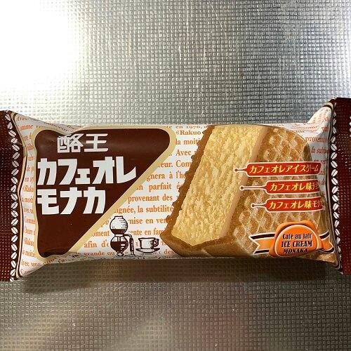 酪王カフェオレモナカ パッケージ