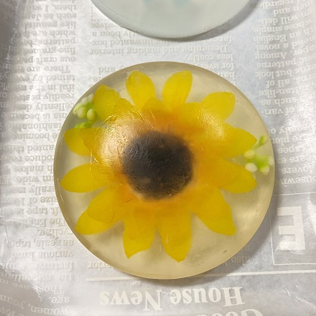 クリアソープ造花完成品
