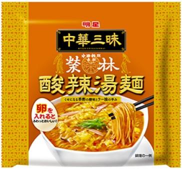 明星食品酸辣湯麺