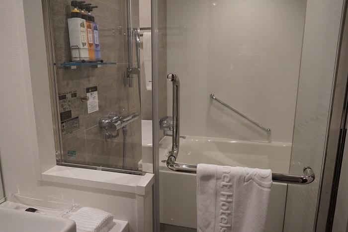 ダイワロイネットホテル仙台一番町 浴室